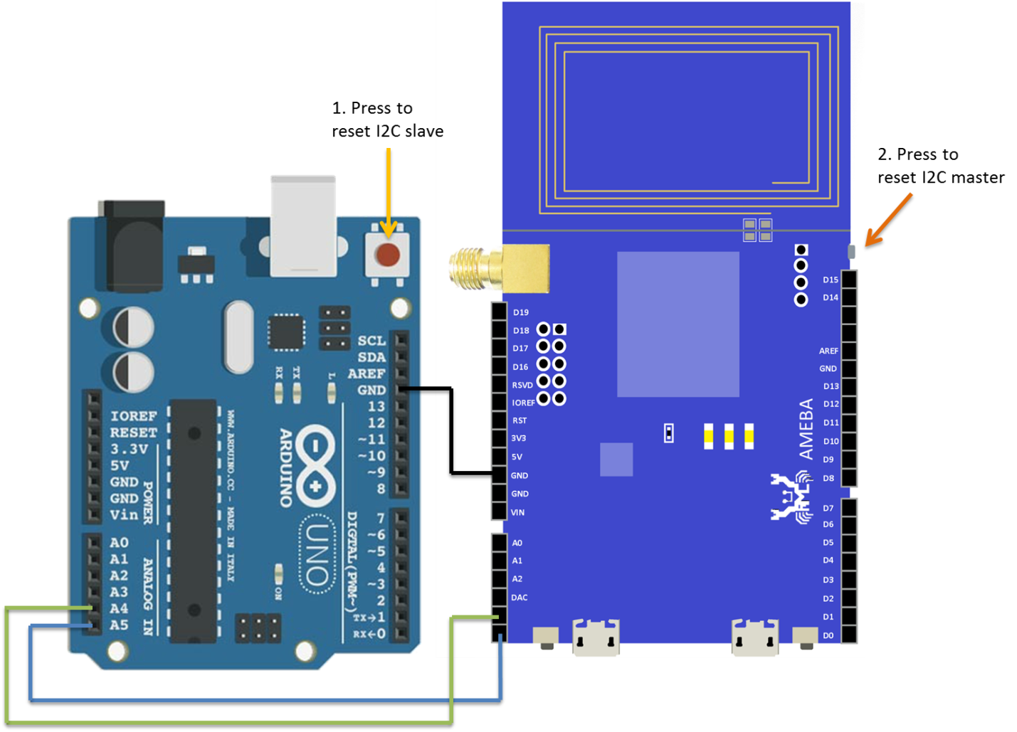 Ameba arduino rtl8195 rtl8710 i2c communicate with arduino 4 5 below is the rtl8710 wiring diagram asfbconference2016 Image collections
