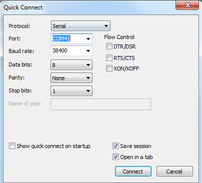 Standard SDK: [RTL8195] Transparent Transmission – Use Ameba to
