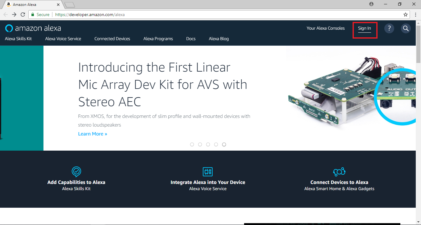 Ameba Arduino: [RTL8195] Amazon Alexa – Realtek IoT/Arduino Solution