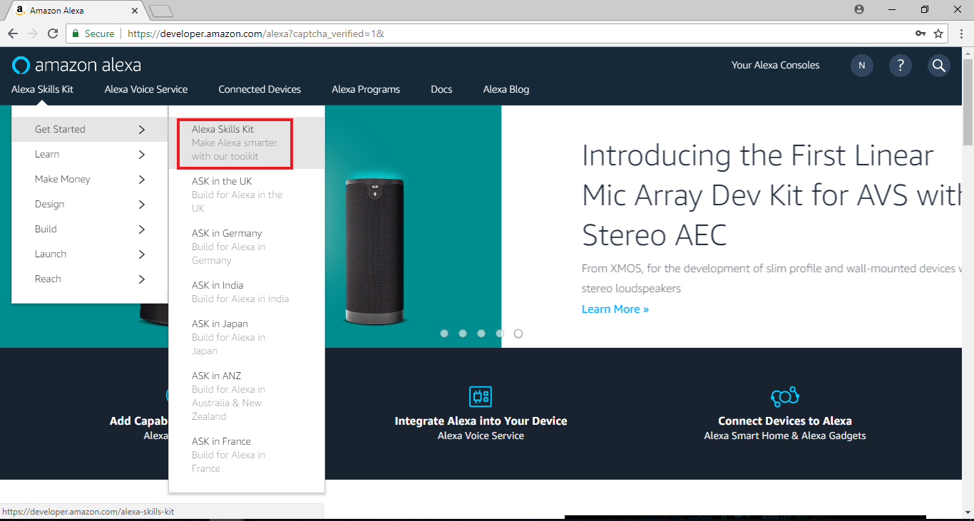 Ameba Arduino: [RTL8195] Amazon Alexa – Realtek IoT/Arduino