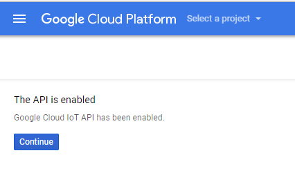 Ameba : Getting Started With Google Cloud IoT – Realtek IoT/Arduino